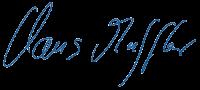 Muffler-Unterschrift